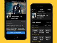 Movie Booking App UI