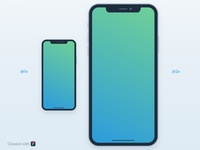 Iphone x mockup preview 2x