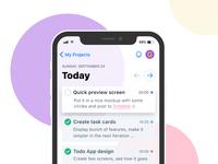 Today's Tasks - Todo App
