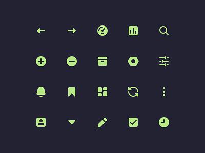 Icon Set icon design material design icons set design user interface ui