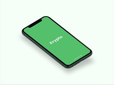 Loading Screen for Crypto app swift ios logo branding dwolla stripe fintech api ui mastercard design