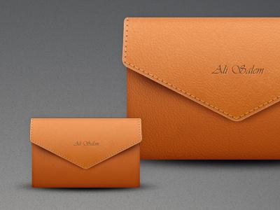 Leather Envelope leather envelope icon