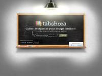 Tabshora landing page