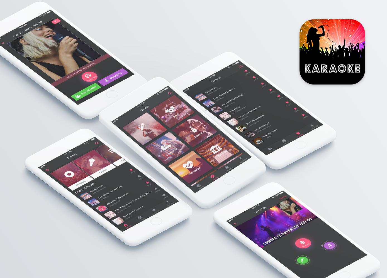 Karaoke App Concept by Nguyen Van Nguyen on Dribbble