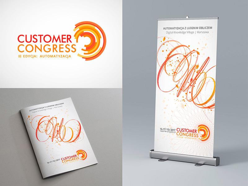 CustomerCongress Concept_2 visual identity identity design identity branding identity logotype logo branding