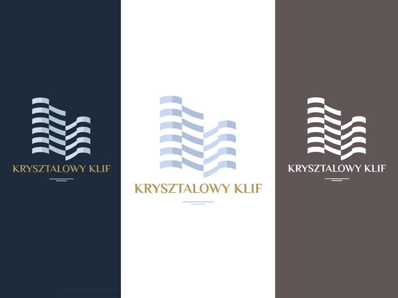 Kryształowy Klif Logo / Concept 2.0 visual  identity identity emblem symbol logo logotype branding