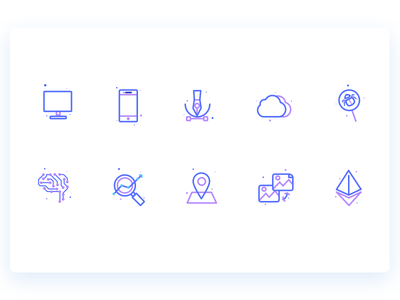 Product Development Icons website illustration icons development product