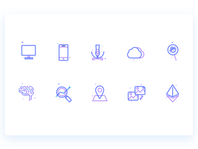 Product Development Icons