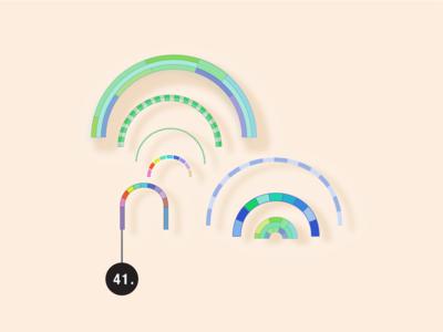 Rainbows: Visual Tools & Imagination whimsical toolbox vector illustration rainbow