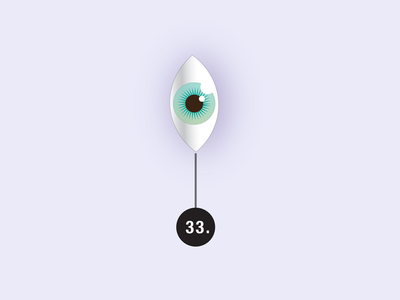 Eye: Visual Tools & Imagination whimsical vector toolbox eye illustration