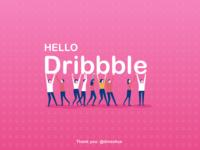 Hello Dribble...!