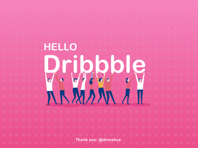 Hello Dribble...! first-shot hello dribbble hello