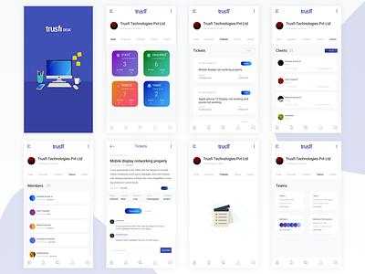 Mobile Dashboard UI status ui mobile mobile dashboard dashboard