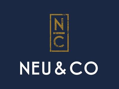 Neu And Co Logo And Brand Identity Logo Design