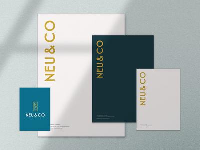 Logo And Brand Identity, Letterhead And Social Media