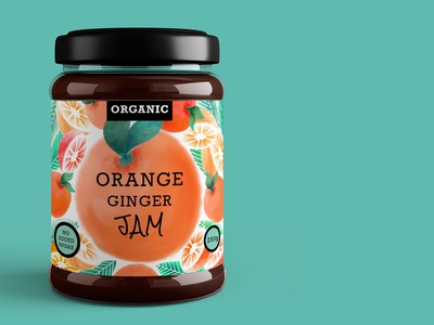 Jam Packaging and Label Design