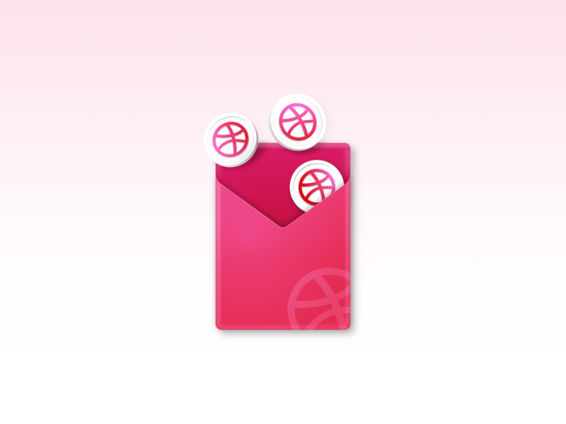 Dribbble invitation X3