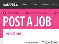 Post a Job, fixed ;)