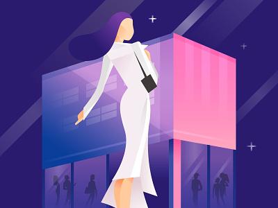 confident women illustration