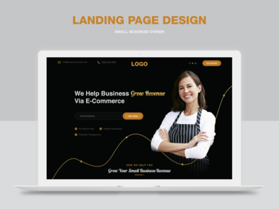 Collecting user's information(landing page design)