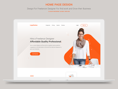 Sleek Design for Freelance platform for creatives