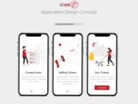Event tickets management application design