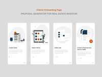 Client onboarding page
