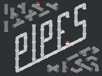 Pipes Icons for Icograms Designer