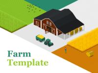 Online Editable Farm Template