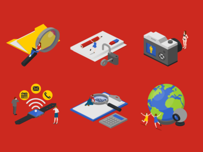 Office Icons designs, themes, templates and downloadable