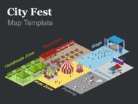 city fest map template