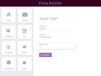 Form Builder builder forms