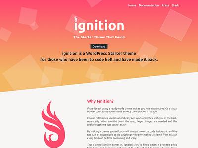 Ignition wordpress web desgin