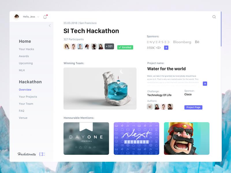 Platform for Hackathons