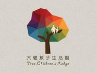 Tree childrens lodge logo