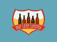 Logo for Hop Leaf (Craft Beer Importer)