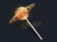 Saturn Flavored Lollipop?