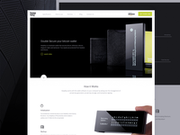 KeepKey Website Redesign Homepage