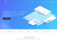 Machinery Production Company Management System Landing Page