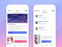 We Are LA Tech Community App Redesign