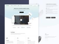 E-commerce Analytics System Website Design