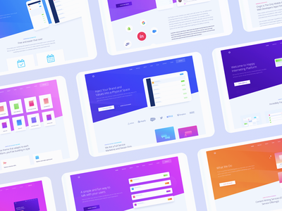 Marketing Website Design for Tablet zajno ux ui targeting strategy planning optimization marketing delivery communication analytics advertising
