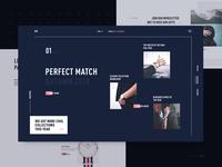 Homepage Design for E-Commerce Website