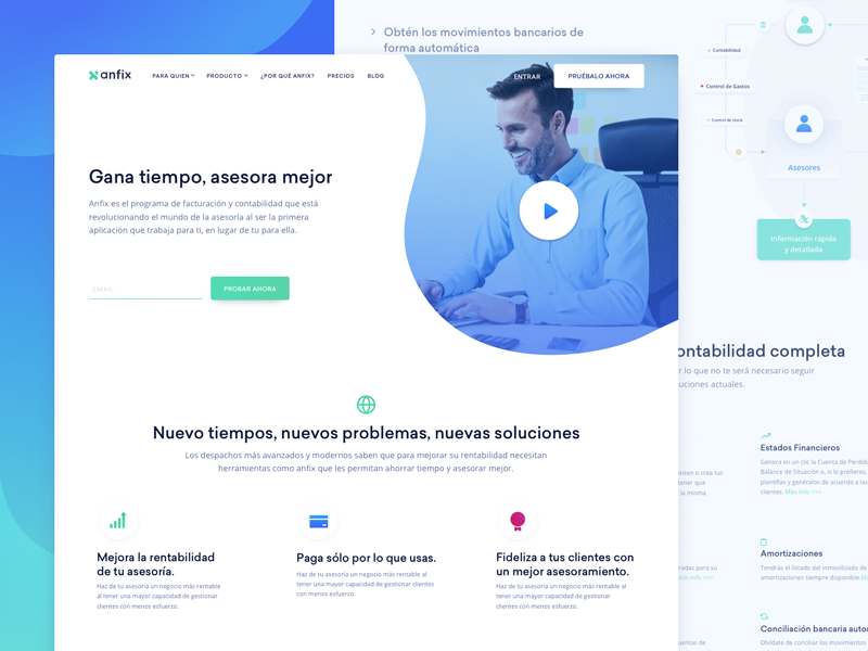 target page design for invoicing saas company by tolik nguyen dribbble