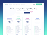 Pricing Page Design for Invoicing SaaS Company