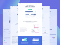 Feature Pages Design for Invoicing SaaS Company