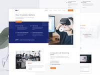 Homepage for NDA (WIP)
