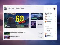 Digital distribution platform for video games