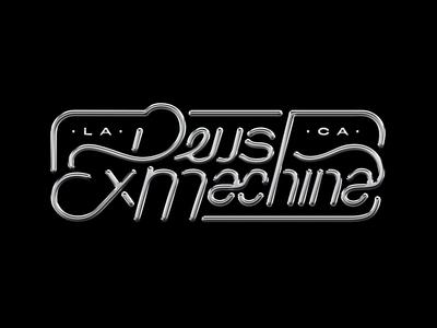 Deus Ex Machina Silver Lettering