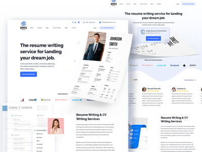 Quanta Resume - Website Design // Download Now ux india nihalgraphics human resource hr cloud quantahrms resume writing hr hrms free website website psd freebie psd freebies freelance freebie free download